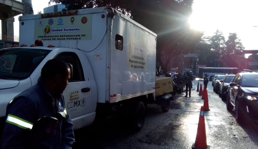 482 Colonias Servicio Agua Ciudad México