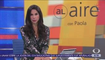 Al Aire con Paola Rojas Programa del 16 de octubre del 2018
