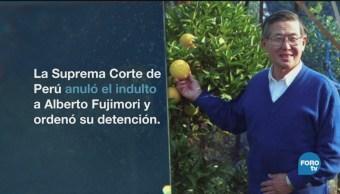 Alberto Fujimori Expresidente Perú Regreso Prisión