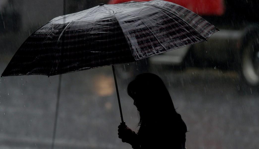 Alerta amarilla por lluvia y granizo para cuatro alcaldías