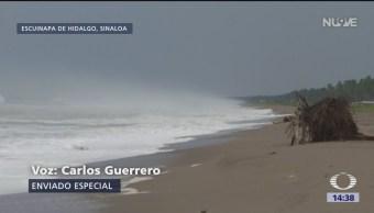 Alerta en Sinaloa, por llegada de 'Willa'