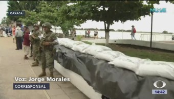 Alerta en Tacotalpan, Veracruz, por lluvias