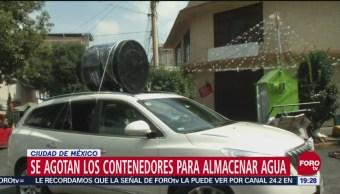 Alistan Operativos Megacorte Agua Cdmx