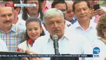 AMLO reconoce el trabajo de los periodistas en Guerrero