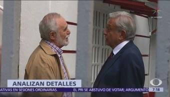 AMLO se reúne con los gobernadores del norte de México