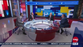 Analizan selección de almirante Ojeda y general Sandoval para secretarías