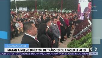 Asesinan a nuevo director de tránsito de Apaseo El Alto