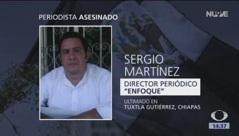 Asesinan al director del periódico Enfoque en Chiapas