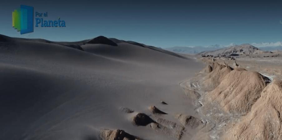 Atacama, al norte de Chile. (Noticieros Televisa)