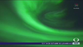 Aurora boreal en Finlandia arrebata el aliento