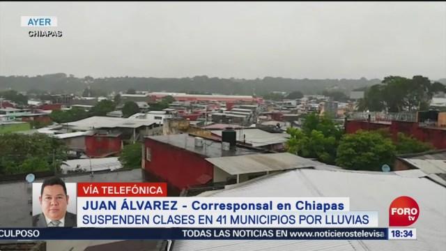 Autoridades rescatan a pescadores en Chiapas