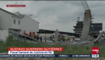 Avanzan indemnizaciones de víctimas por derrumbe en Monterrey