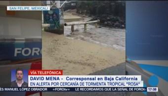 Baja California llevará a población civil a albergues