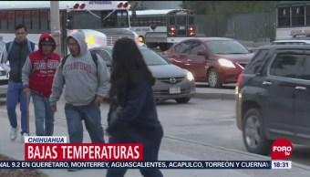 Bajan las temperaturas en Chihuahua, por frente frío
