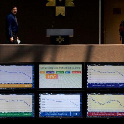 Bolsa Mexicana de Valores cae ante menor crecimiento económico global