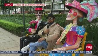 Bryan Mendoza muestra los Mexicráneos desde Reforma