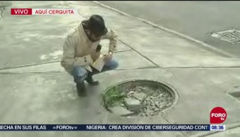 Bryan Mendoza se cerciora de mantener una CDMX limpia
