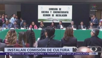 Cámara de Diputados instala Comisión de Cultura