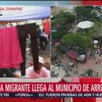 Caravana migrante recorre 283 k de territorio mexicano