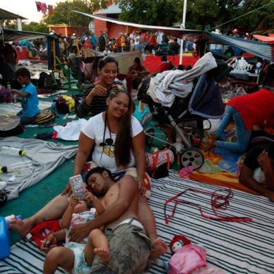 Caravana migrante no está integrada por delincuentes: Amieva