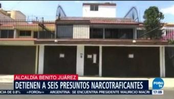 Catean casa de seguridad en la alcaldía Benito Juárez