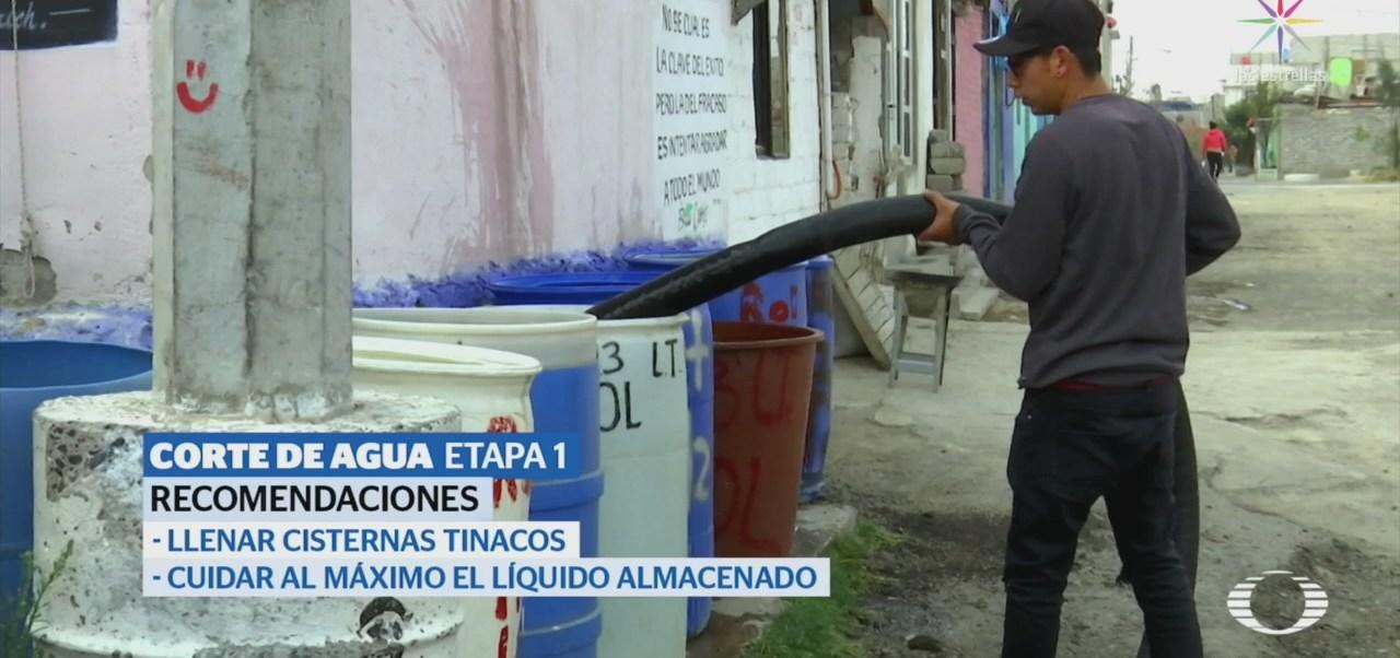 CDMX Prepara Recorte Suministro Agua Dos Semanas