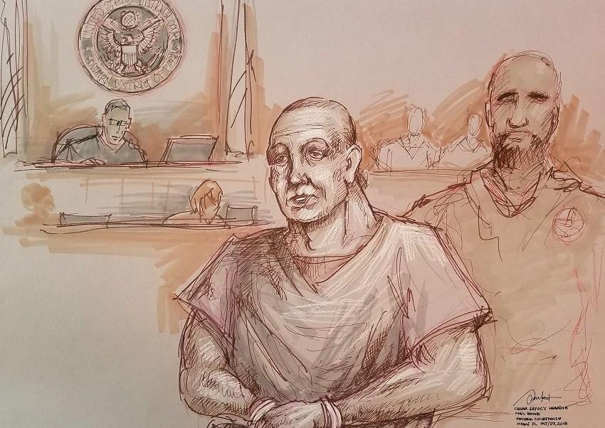 César Sayoc comparece en un tribunal por paquetes explosivos