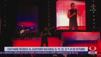 Chayanne arma fiesta en el Auditorio Nacional