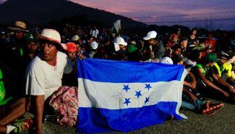 La segunda caravana migrante dormirá esta noche en Chiapas