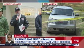 CJNG Responsable Balacera Enfrentamiento Texcoco Edomex