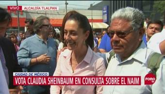 Claudia Sheinbuam participa en consulta sobre el nuevo aeropuerto