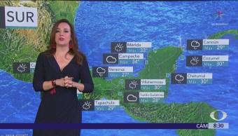 Pronostican tormentas en el Valle de México