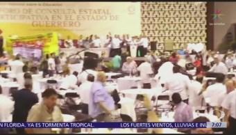 CNTE exige que Gobierno federal deje el control de nómina