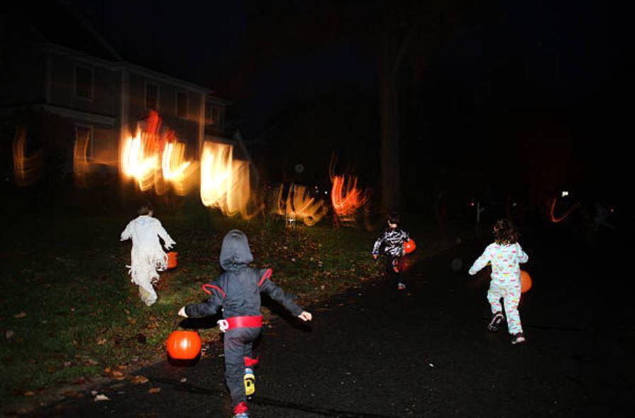 Cómo evitar riesgos en niños durante Halloween