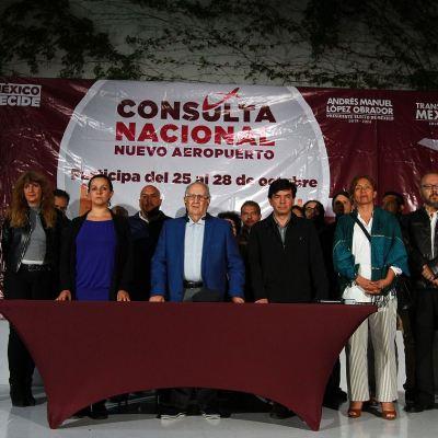 Santa Lucía gana en consulta sobre nuevo aeropuerto de México