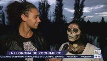 Conoce la representación de la Llorona de Xochimilco