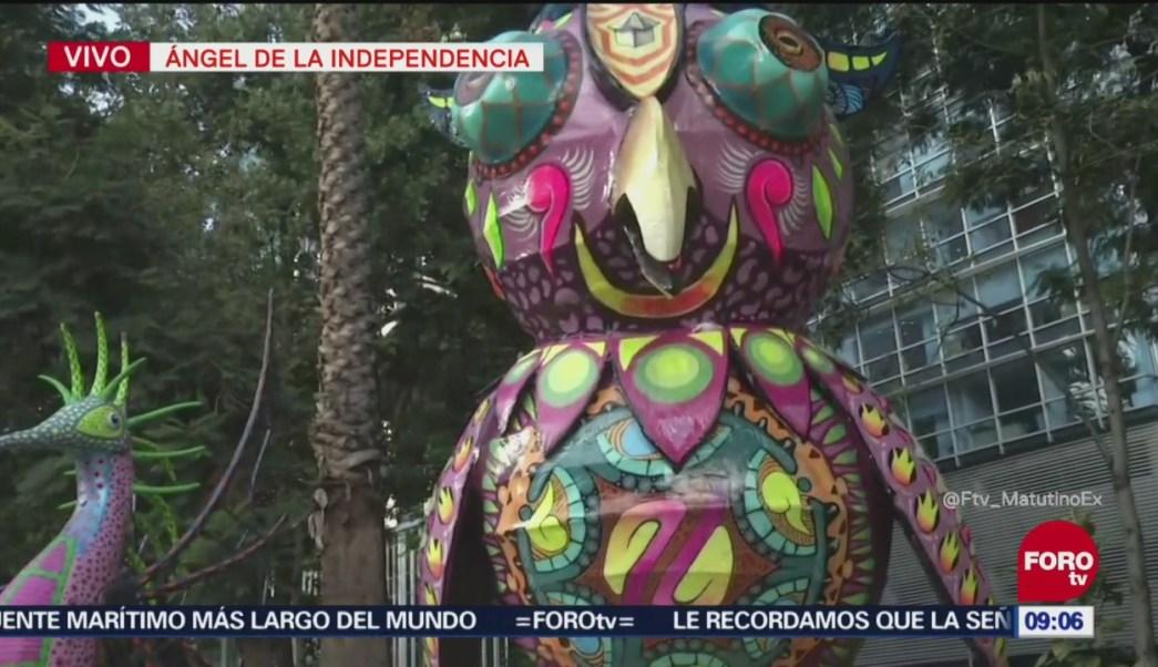 Conociendo los alebrijes de Reforma, con Enrique Muñoz