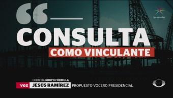 Consulta Definirá Construirá NAIM Vocero Aeropuerto