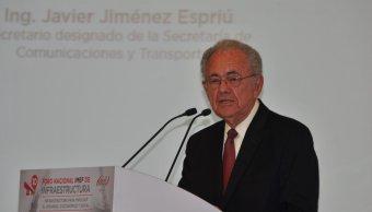 Consulta sobre NAIM no es ilegal: Jiménez Espriú