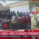Continúa el éxodo de migrantes centroamericanos