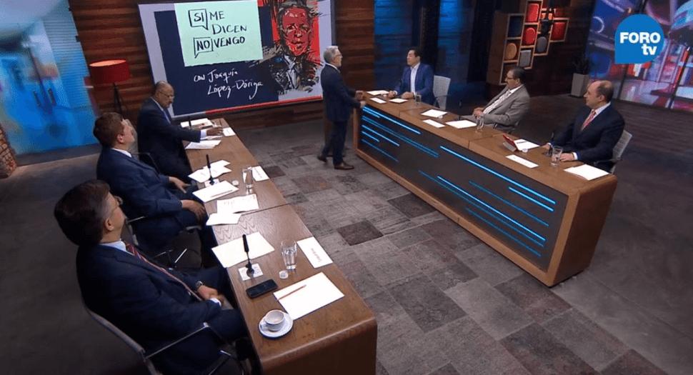 Coordinadores de diputados debaten en Si Me Dicen No Vengo