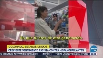Crece Sentimiento Racista Contra Hispanohablantes EU