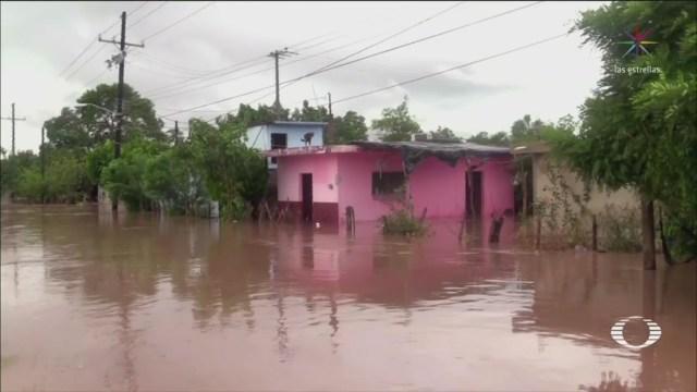 Crecidas Ríos Efectos Willa Inundaciones Veracruz
