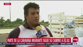 Cruz Roja Brinda Atención Integrantes Caravana Migrante