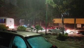 Reportan afectaciones por lluvias en Cuernavaca, Morelos