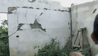 En Chiapas, damnificados del sismo de 2014 aún esperan ayuda
