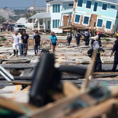 Suman 17 muertos por el huracán 'Michael' en Florida