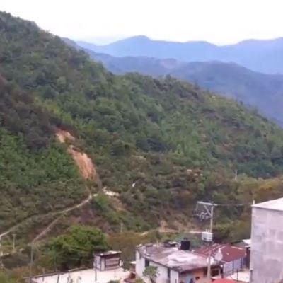 Lluvias provocan derrumbe de cerro en Oaxaca; mueren 6 personas