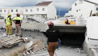 Avanzan indemnizaciones tras derrumbe de plaza comercial en Monterrey