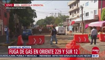 Desalojan a decenas de personas por fuga de gas en la Agrícola Oriental